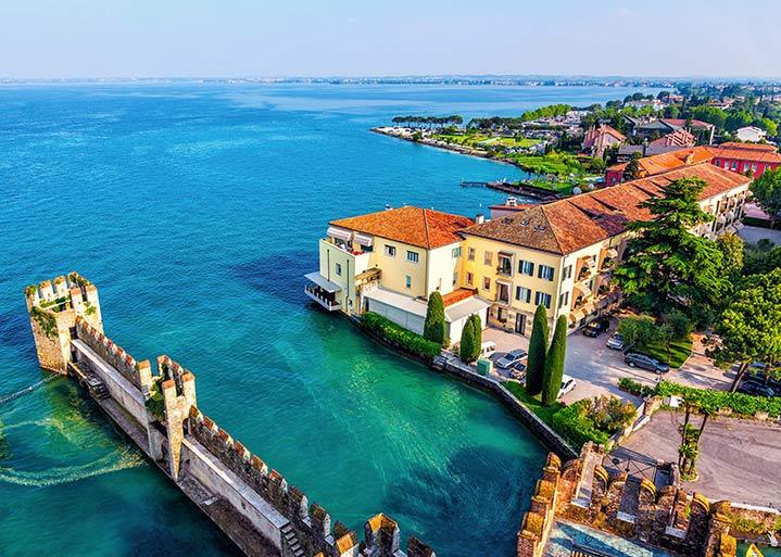 vakantie italie vliegreis